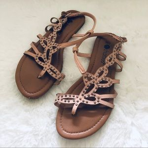 🌸Chatties - Pink jeweled Sandals